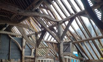 Stabilisation and re-roofing to listed 15th century building