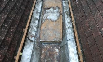 Lead Valley Stripped Out for repair