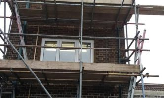 Tower Scaffold For External Works